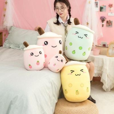 Kawaii Plushies The Bubble Tea Family Fruit Collection Cute Stuffed Animals