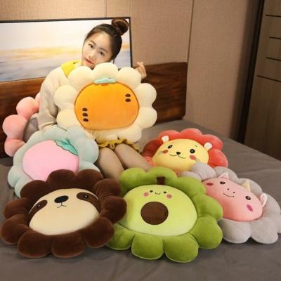 Kawaii Fruit Pillow Adorable Fruit Cushions
