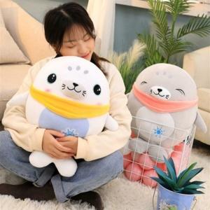 Kawaii Plushies Adorable Kawaii Seal Buddies | NEW Cute Stuffed Animals