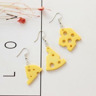 Cheese Earrings