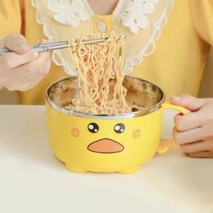 Kawaii Cute Duck Bowl