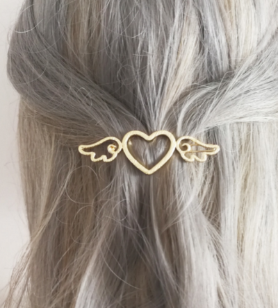 Angel Wings Hair Clip