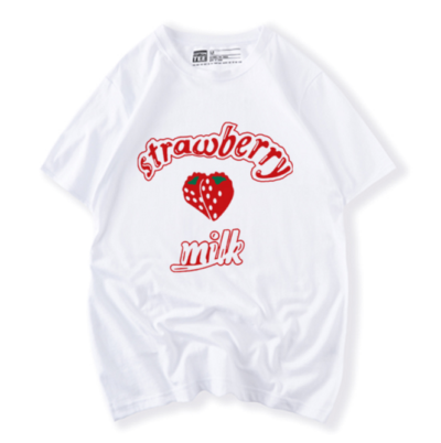 Strawberry Milk Shirt Cute Kawaii