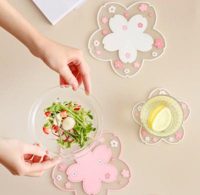 Sakura Cup Mat Cute Kawaii