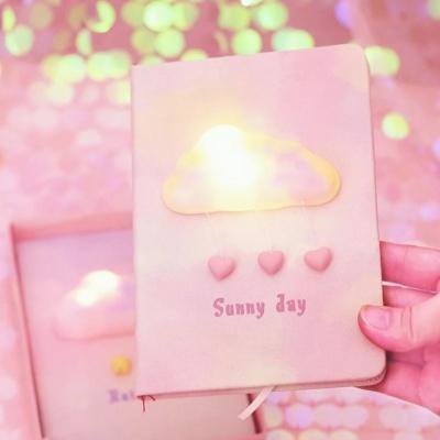 Kawaii Cloud Light Up Notebook