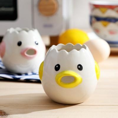 Cute Kawaii Egg White Yolk Separator