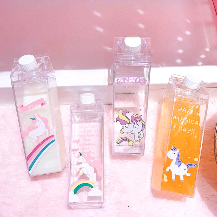 Kawaii Unicorn Water Bottle (500ml)