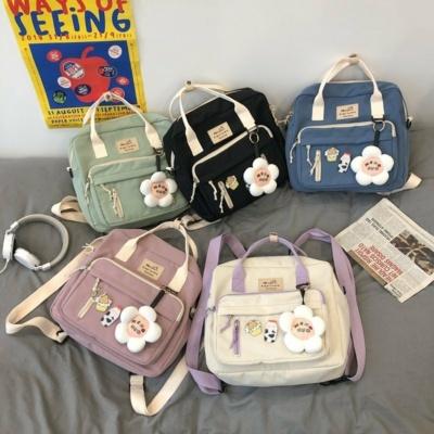 Kawaii Canvas Style Harajuku Lovers Backpack