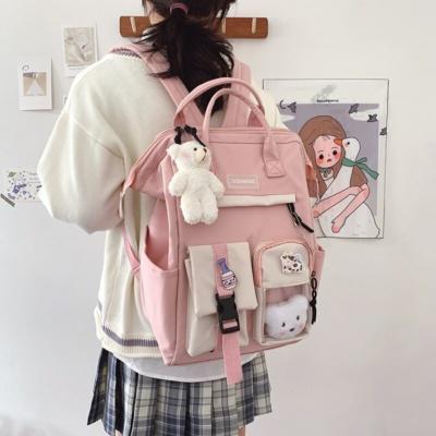 Kawaii Preppy College Backpack