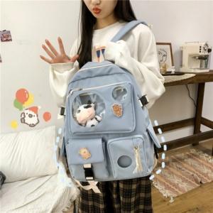 Kawaii College Style Harajuku Students Backpack