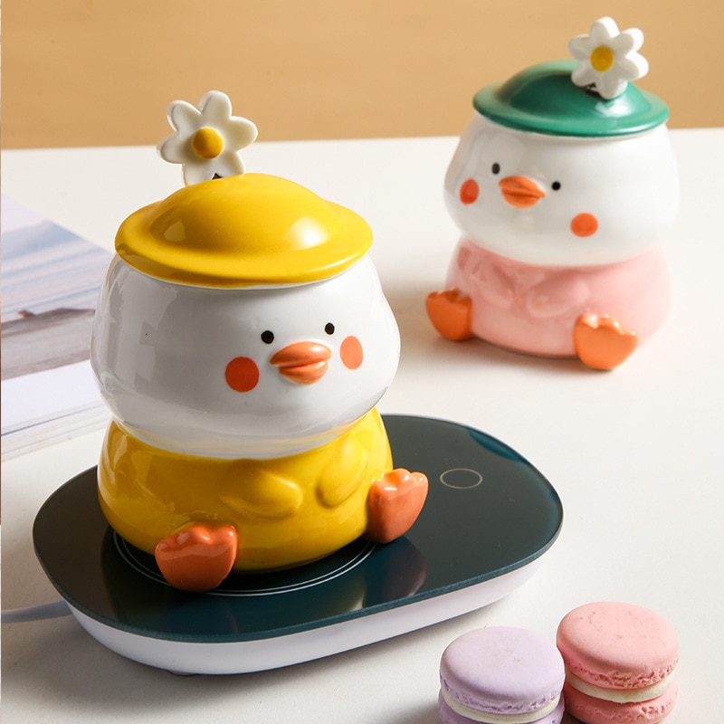 Kawaii Duck Ceramic Cup – Limited Edition
