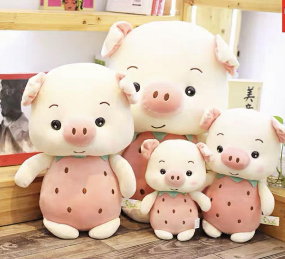 Kawaii Cute Pig  Plush Toy