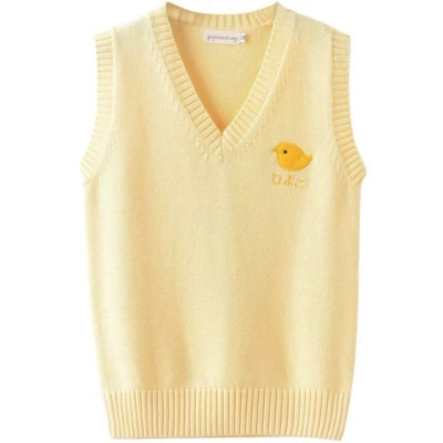 Cute Chick Knitted Sweater
