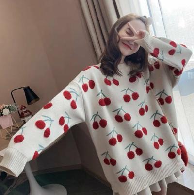 Cute Cherry Sweater