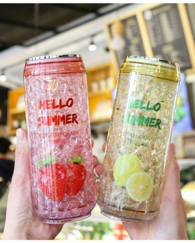 Kawaii Summer Ice Water Bottle