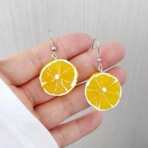 Kawaii Cute Lemon Earrings