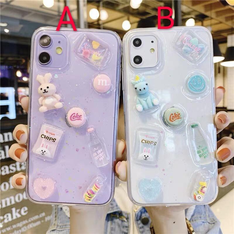 Kawaii Cute Phone Case For Iphone7/7P/8/8Plus/X/Xs/Xr/Xsmax/11/11Pro/11Pro Max/12/12Mini/12Pro/12Promax