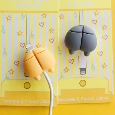 Funny Charger Cute iPhone Protector