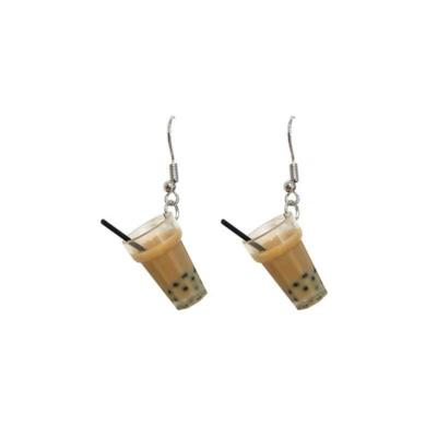 Kawaii Boba Earrings
