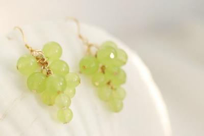 Kawaii Cute Grapes Earrings