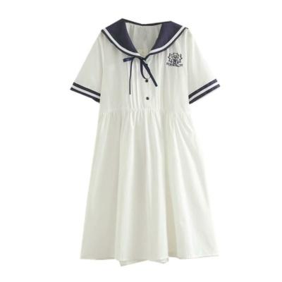 Sailor Collar Dress Cute Kawaii