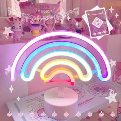 Kawaii Rainbow Lamp