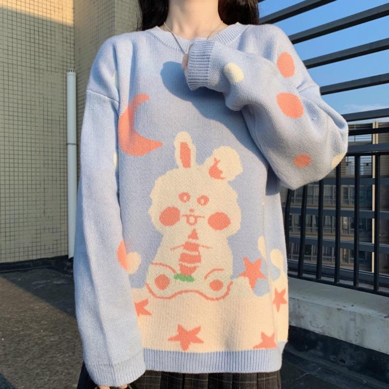 Kawaii Cute Rabbit Sweater