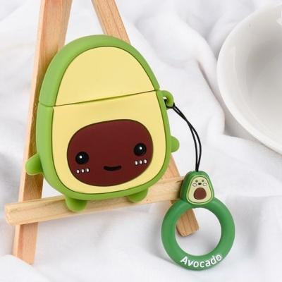 Kawaii Avocado Airpods Case 1 & 2