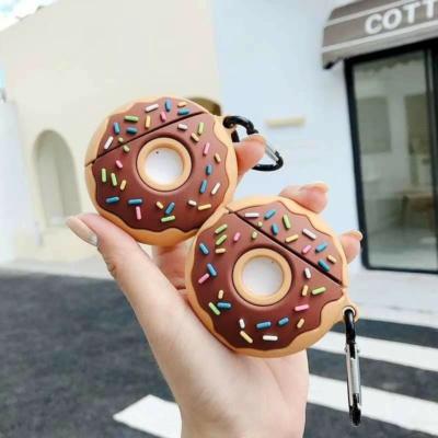 Kawaii Chocolate Donut Airpods Case 1 & 2