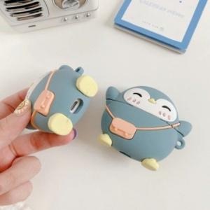Kawaii Flipper Penguin Airpods Case 1 & 2 Pro