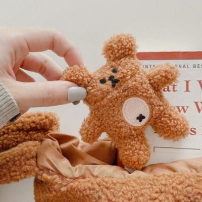 Kawaii Fluffy Bear Airpods Case 1& 2 Pro