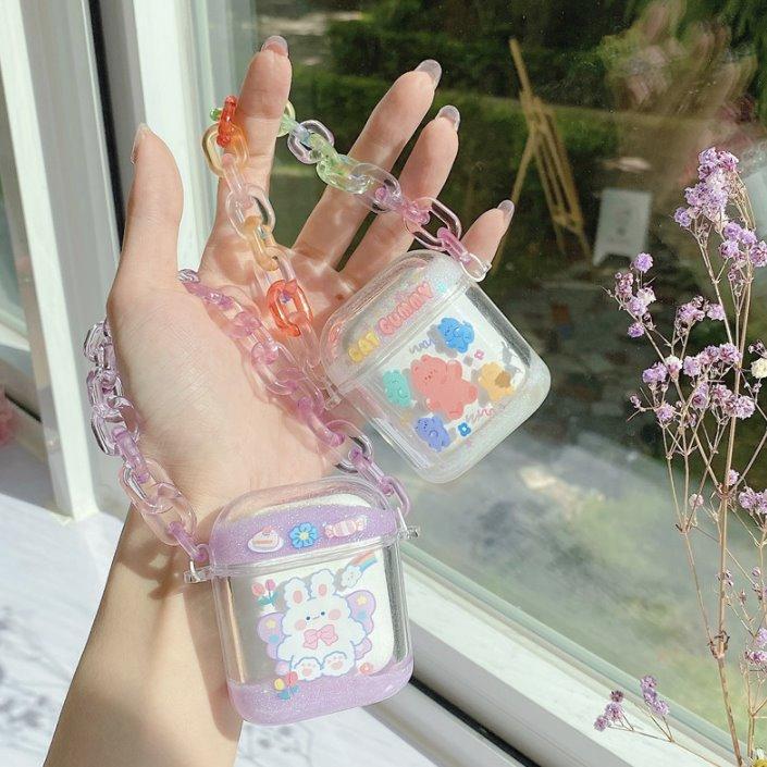 Kawaii Glitter Fairies Airpods Case (1&2&Pro)