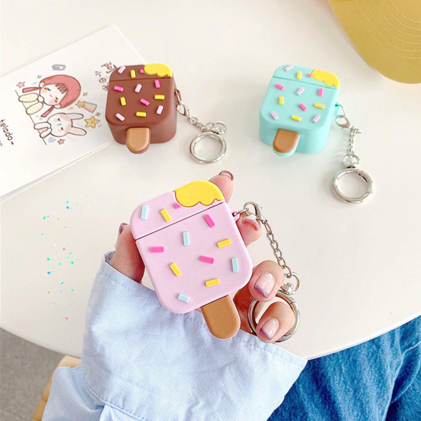 Kawaii Ice Cream Airpods Case (1&2&Pro)