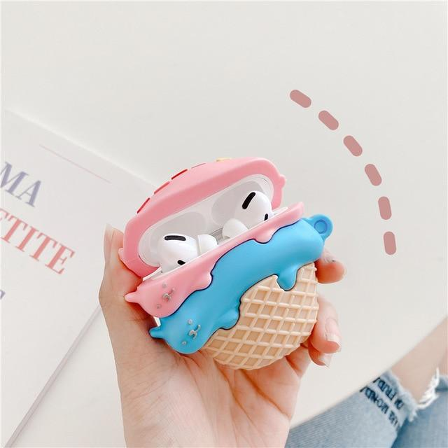 Kawaii Kitty Desserts Airpods Case (1&2&Pro)