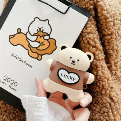 Kawaii Lucky Bear Airpods Case 1 & 2