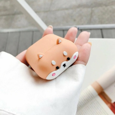 Kawaii Shiba Inu Airpods Case 1 & 2 Pro