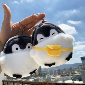 Kawaii Cute Penguin Plush Mini Wallet