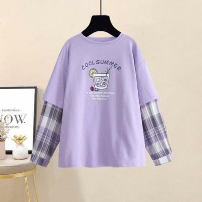Kawaii Cool Summer Purple Tee