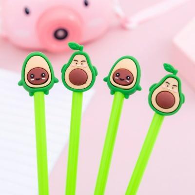Happy Avocado 4 pcs/lot 0.5mm Pen