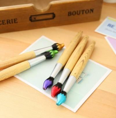 Artistic Brush Shape Pen Kawaii Stationery