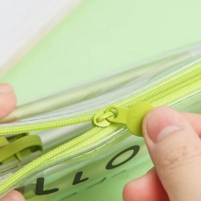 Kawaii Avocado Series Transparent Pencil Bag