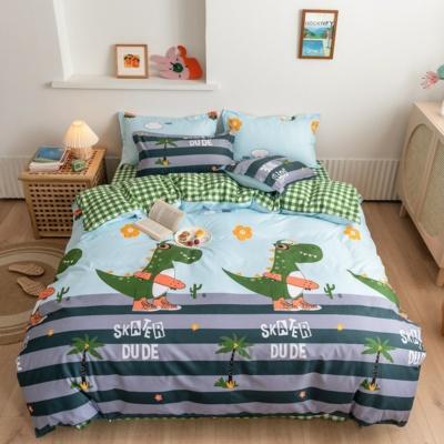 Kawaii Dinosaur 3PCS Bedding Set