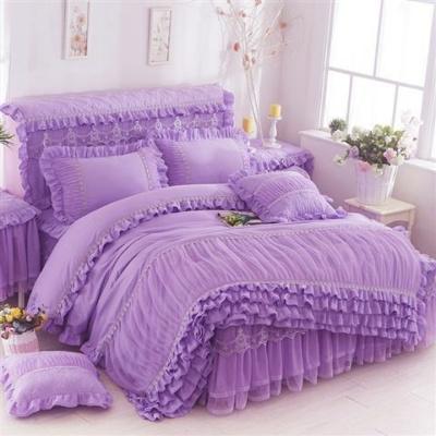Kawaii Princess 3 Pcs Lace Duvet Cover Bedding Sets