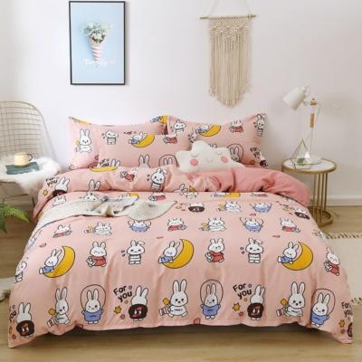 Kawaii Bunny Moon Pastle 3PCS Bedding Set