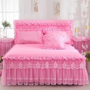 Kawaii Princess Lace Design 3PCS Bedding Set