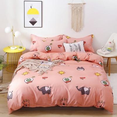 Kawaii Animals Pastle Bedding 3PCS Set