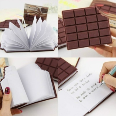 Chocolate Cookies Sticky Notes Memo Pad