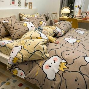 Kawaii Princess Cat 3/4 PCS Bedding Set