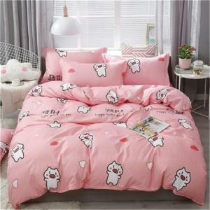 Kawaii Pink Pig 3/4pcs Bedding Set