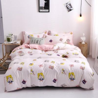 Kawaii Sailor Moon 3/4 PCS Bedding Set